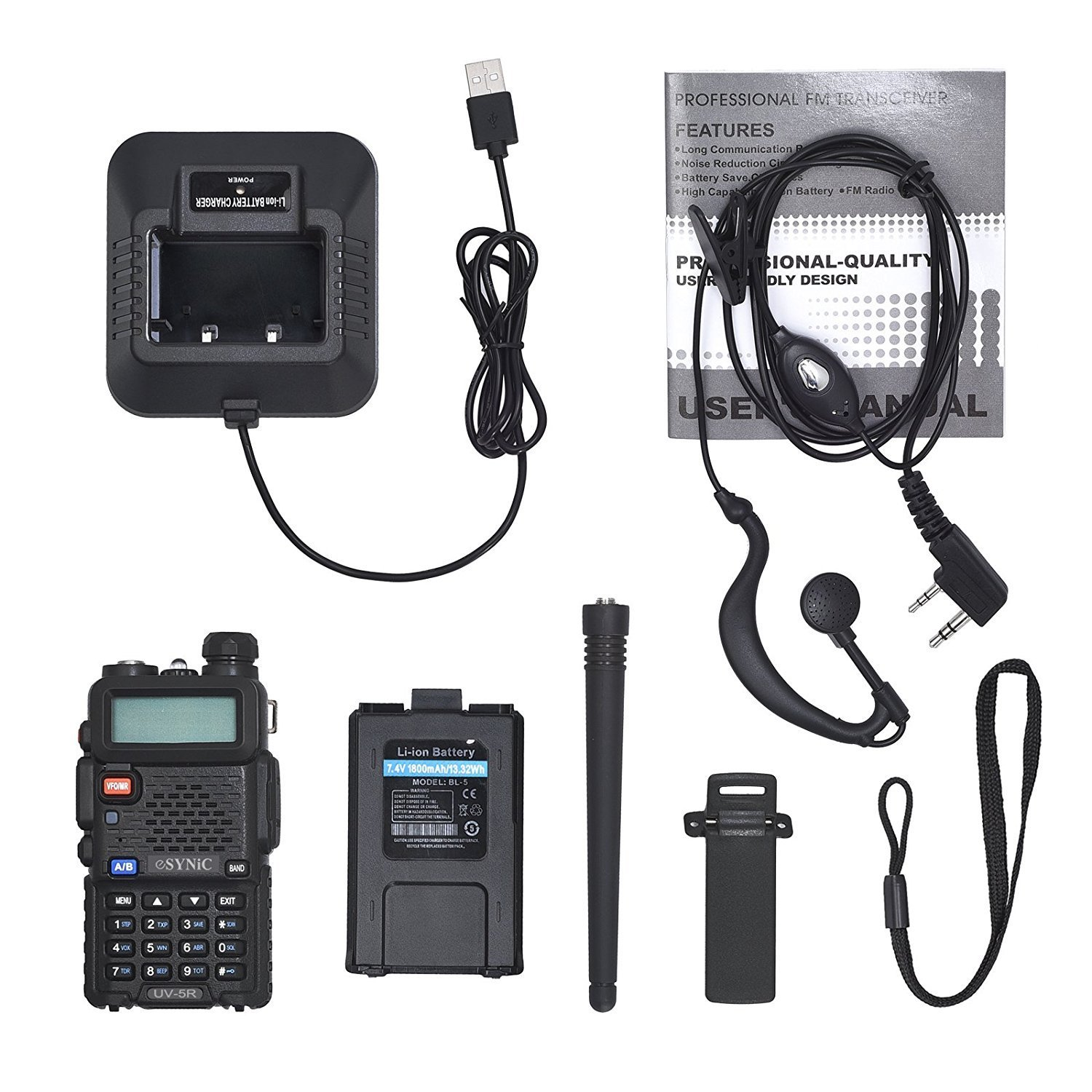 baofeng uv 5r plus manual